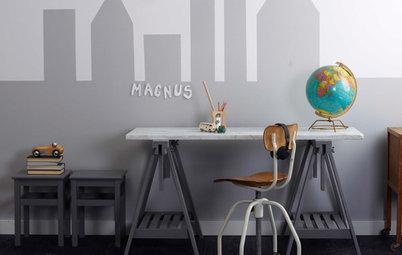 Helgprojekt: 7 idéer att dekorera väggarna i barnens rum med