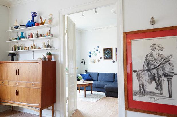 ミッドセンチュリー 子供部屋 by Rasmus Malmstrøm/ Kopenhagen Collective