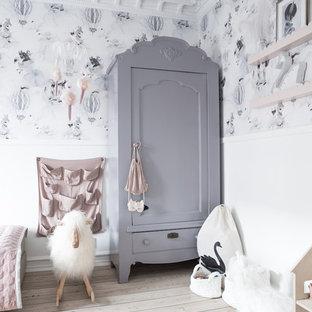 Idées déco pour une chambre d'enfant scandinave.