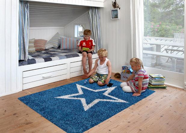 Skandinavisk Børneværelse by Tæppelageret I Ans A/S