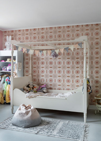 Romántico Dormitorio infantil by A little story