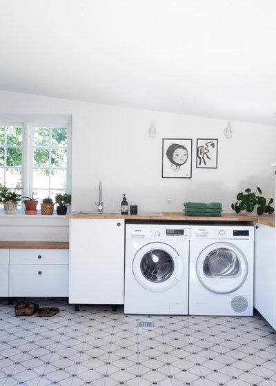 Skandinavisk Tvättstuga by Fotograf Camilla Stephan