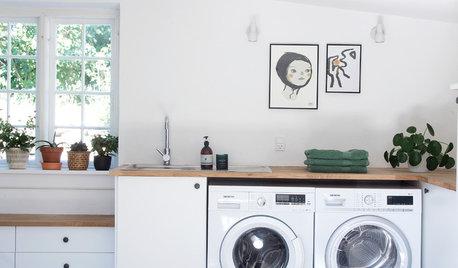 Dit Dilemma: Hvordan indretter man bedst vaskerum på første sal?