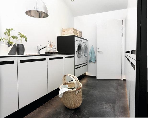 Minimalistisch Hauswirtschaftsraum by JKE Design