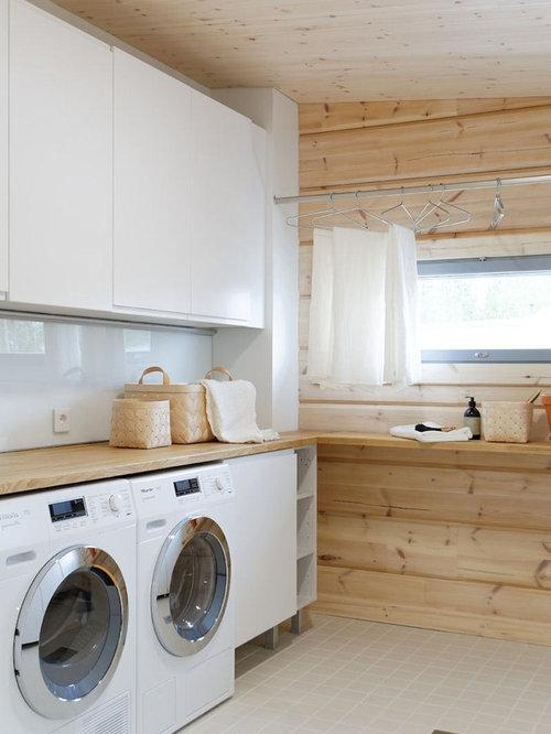 Scandinavian Laundry Room Design Ideas Remodels Amp Photos