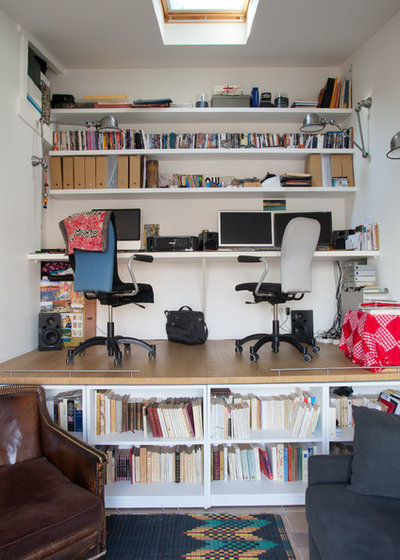 Contemporain Bureau à domicile by ATELIER FB