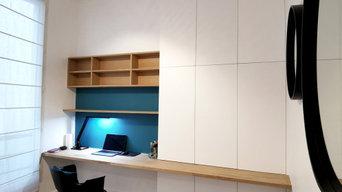 Aménagement d'un bureau sur mesure
