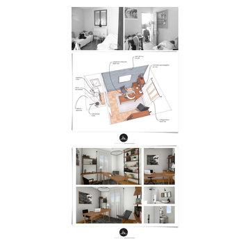 Aménagement intérieur d'une villa
