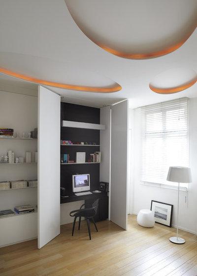 Scandinavian Home Office by Bismut & Bismut Architectes
