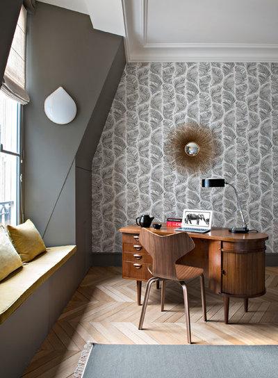 Classique Chic Bureau à domicile by Fanny Prat - Architecte d'intérieur