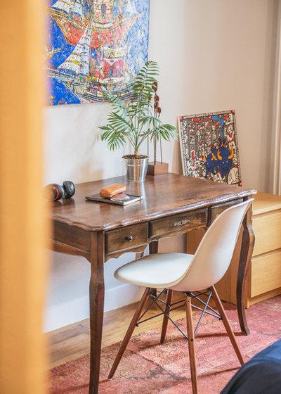 le case di houzz l arte di unire passato e presente col colore. Black Bedroom Furniture Sets. Home Design Ideas