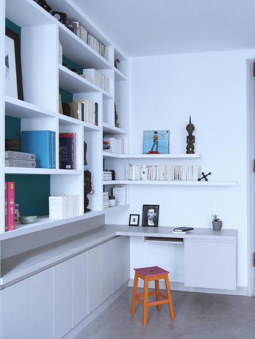 Bureau moderne photos et id es d co de bureaux for Grand bureau moderne