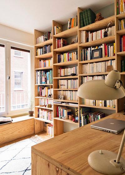 Éclectique Bureau à domicile by Atelier Olivier Bourdon