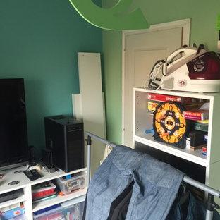 リールの北欧スタイルのおしゃれなホームオフィス・書斎の写真