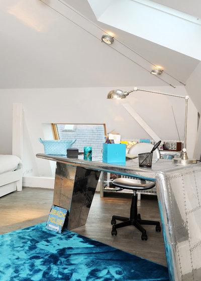 Contemporain Bureau à domicile by RODOLPHE ROBIN