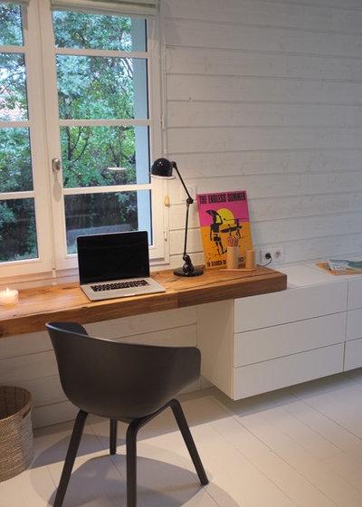 home working comment organiser un espace de travail chez. Black Bedroom Furniture Sets. Home Design Ideas