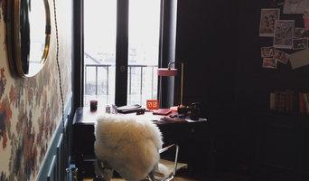 Bureau d'une créatrice de parfum rue de Londres