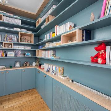 Conserver et accentuer le charme de son appartement parisien - Projet Chalon