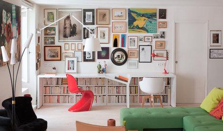 9 charmante Ideen fürs Home-Office im Wohnzimmer