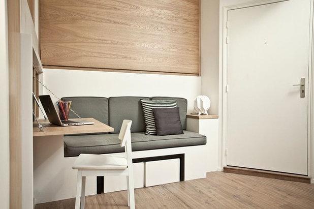 Contemporary Home Office by Géraldine Laferté