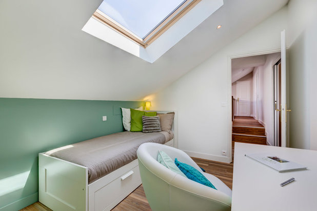 10 astuces pratiques pour am nager une chambre d 39 enfant sous les toits. Black Bedroom Furniture Sets. Home Design Ideas