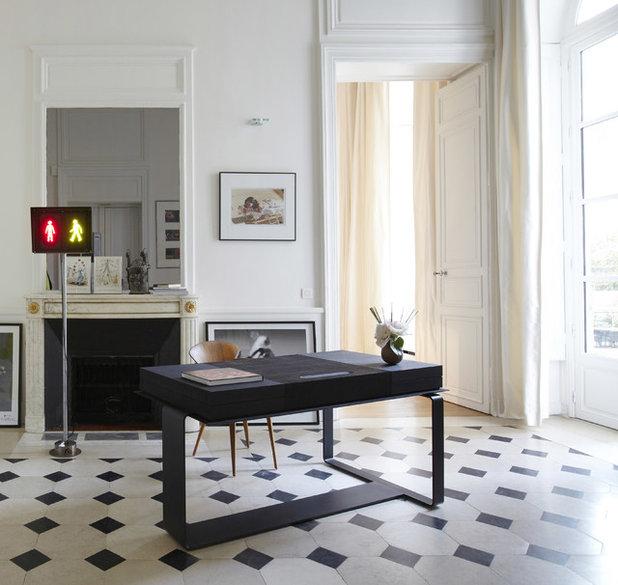 Contemporain Bureau à domicile by Bismut & Bismut Architectes