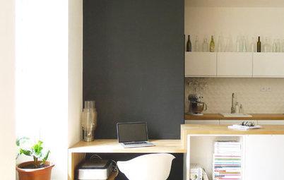 Crea tu oficina o una zona de estudio en la cocina