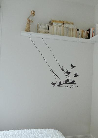 Contemporain Bureau à domicile by Poetic Wall