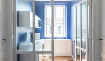 """""""La maison Bleue"""", rénovation à Bayonne"""