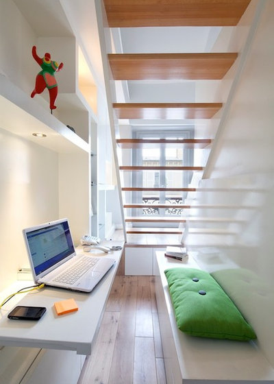espace difficile 10 solutions pour exploiter le dessous d 39 un escalier. Black Bedroom Furniture Sets. Home Design Ideas