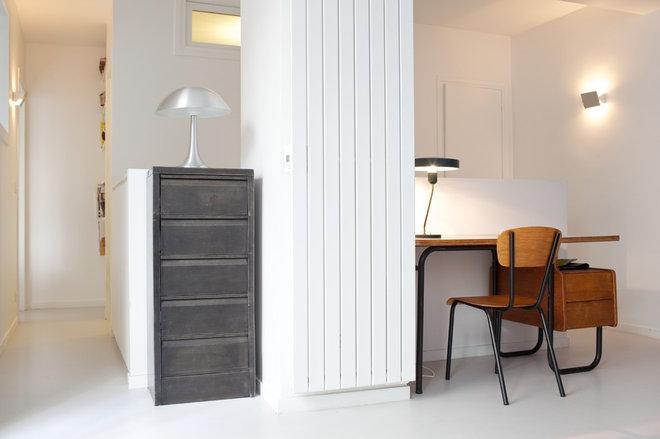 Contemporain Bureau à domicile by Agnès & Agnès architecture