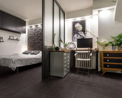 Modernes arbeitszimmer  Modernes Arbeitszimmer in Nizza - Ideen für Ihr Home Office Design