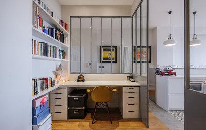 10 solutions pour cloisonner un coin bureau sans s'enfermer