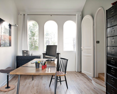 Miraculous Best Private Office Design Ideas Remodel Pictures Houzz Largest Home Design Picture Inspirations Pitcheantrous