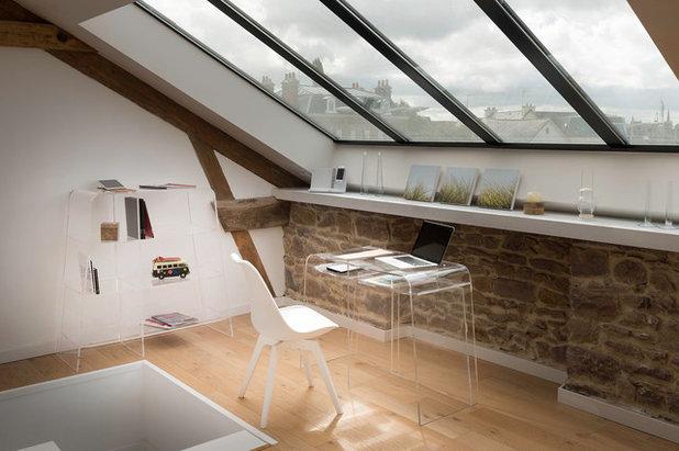 Contemporain Bureau à domicile by Yves Berrier Photographe