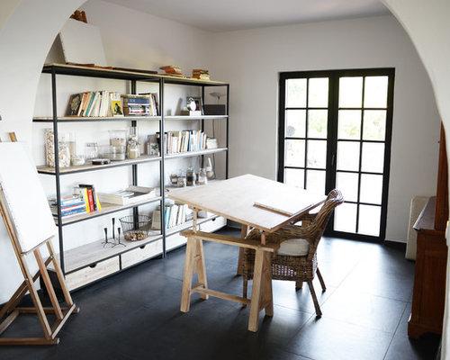 Bureau méditerranéen de type studio photos et idées déco de bureaux