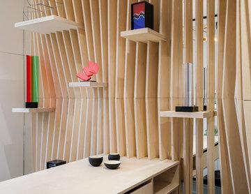 Réaménagement complet d'une Boutique parisienne