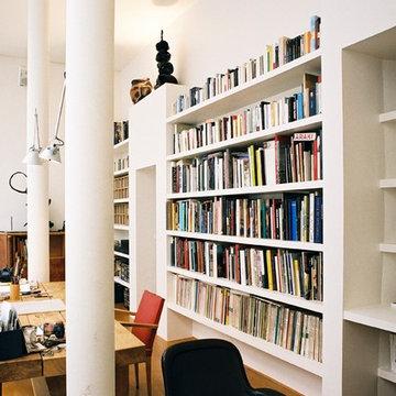 Rénovation d'atelier d'artiste dans le Marais - Paris 4e