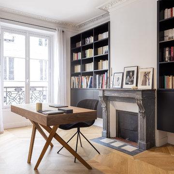 Rénovation d'un appartement haussmannien 4 pièces