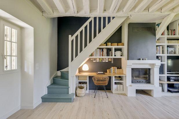 Méditerranéen Bureau à domicile by Atelier VBA - Architecte