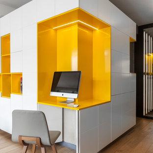 Cette photo montre un bureau scandinave.
