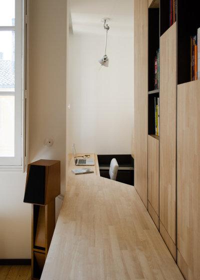 コンテンポラリー ホームオフィス・書斎 by Martins Afonso atelier de design