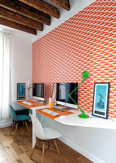 Klassisch modern Arbeitszimmer by Agence LALM