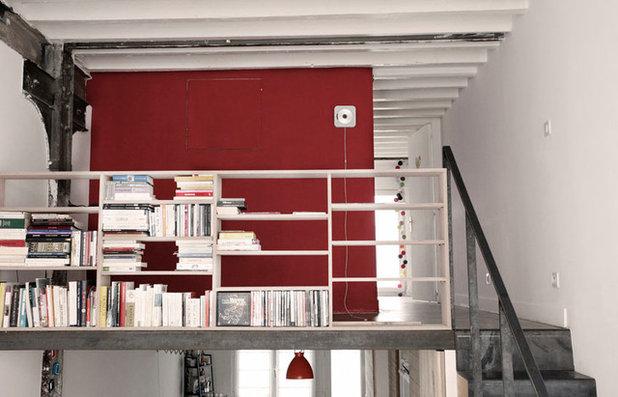 Contemporain Bureau à domicile by 37.2 architecture
