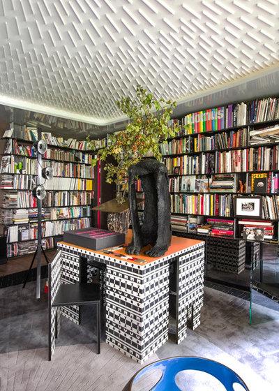 Éclectique Bureau à domicile by Fabrice Ausset - Architecte DPLG