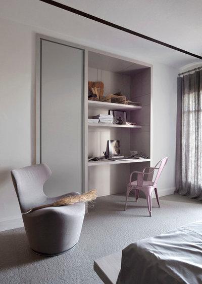 Moderne Bureau à domicile by Dorner Design