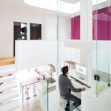 Contemporary Home Office by Le Studio / Pierre Antoine Compain