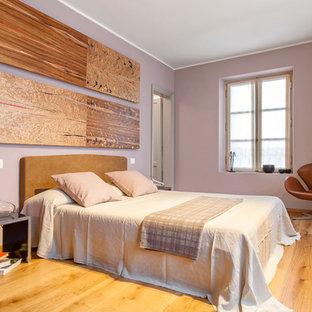 Camera da letto con pareti rosa - Foto e Idee per Arredare