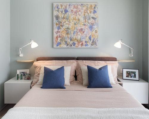 camera da letto con pareti grigie italia - foto e idee per arredare - Pareti Grigie Camera Da Letto