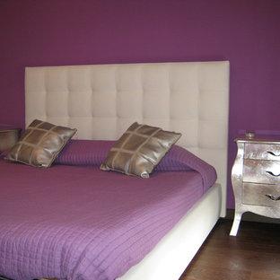 Foto di una camera da letto eclettica